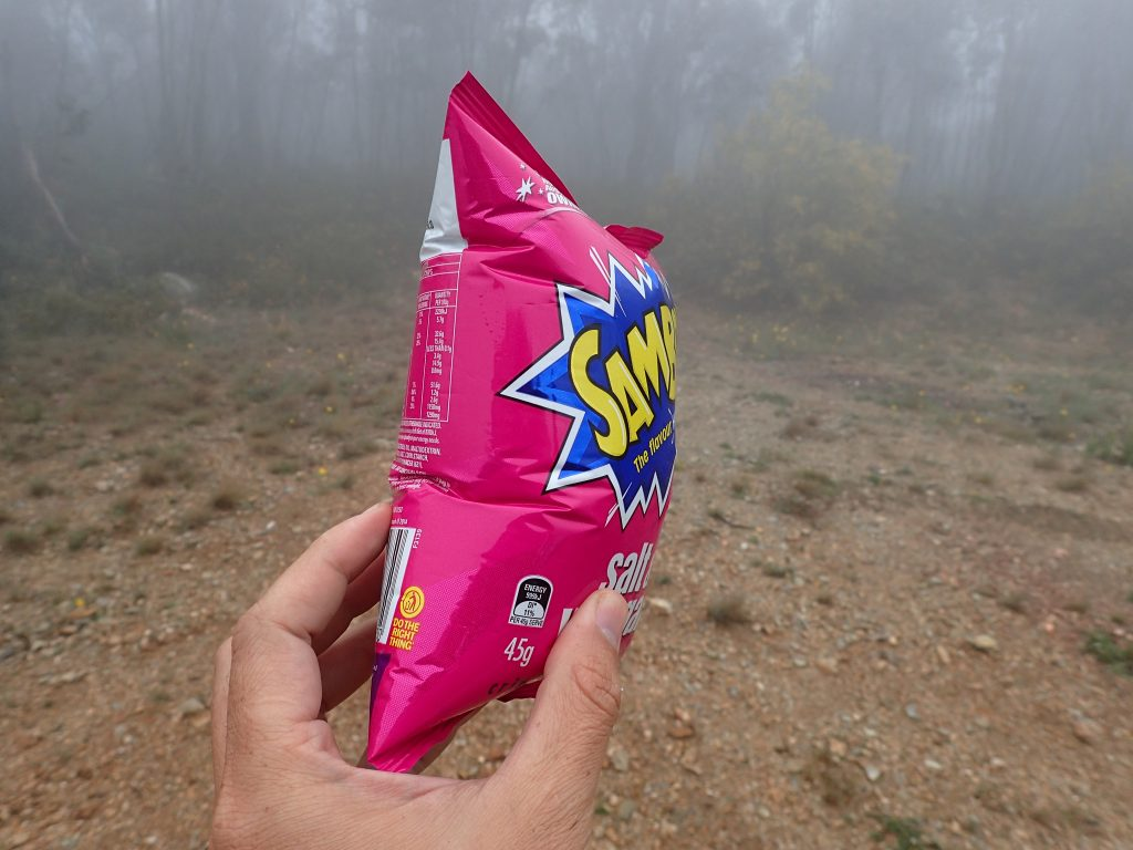 Chips ballon - chips bag expands due to altitude