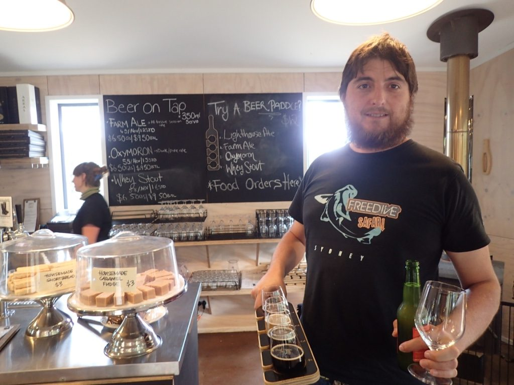 Bruny Island Beer and Cheese Co, Bruny Island TAS