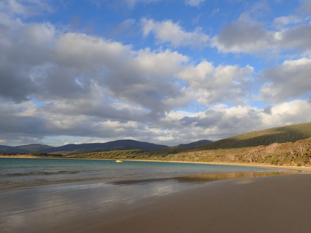Cloudy Bay, Bruny Island TAS