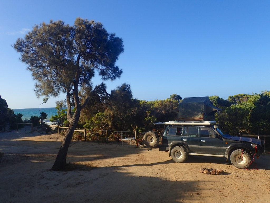 Camping at Waterhouse Conservation Area