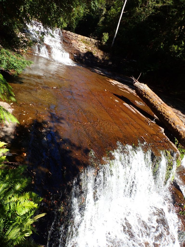 Liffey falls from above
